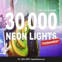 neon lights tournament