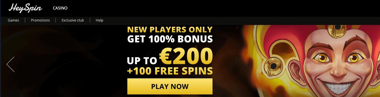 HeySpin Casino
